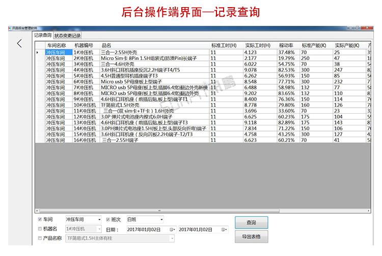 生产管理液晶电子看板软件