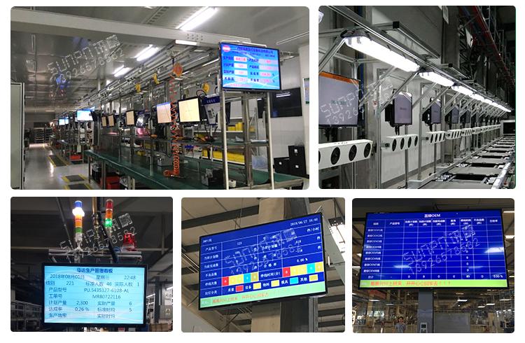 生产管理电子看板案例