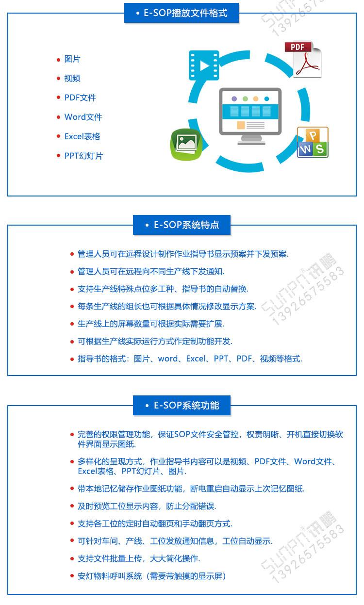 生产作业指导书发放系统特点