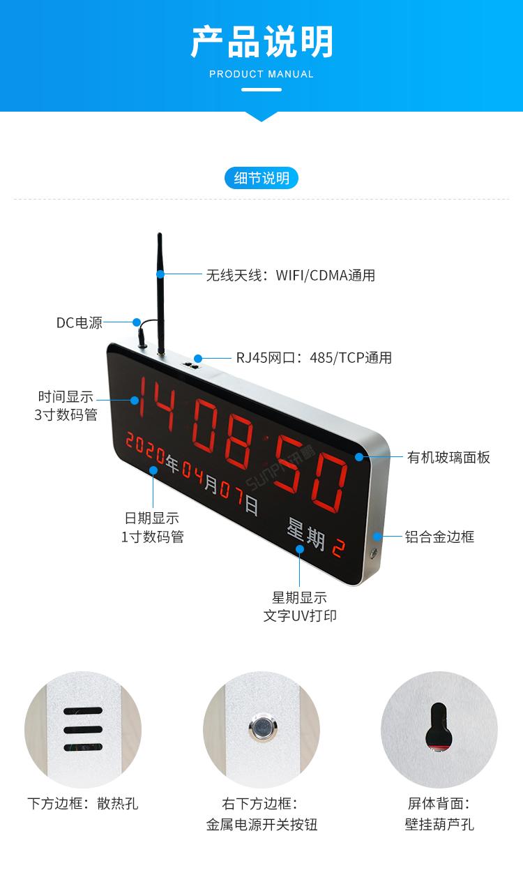医院时钟系统产品说明